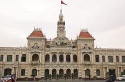 Vietnam Ho Chi Minh City Hall Arkivbilder