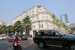 Vietnam Ho Chi Minh City street view Royalty Free Stock Images
