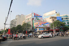 Vietnam Ho Chi Minh City street view Stock Images