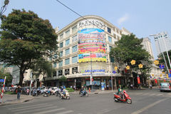 Vietnam Ho Chi Minh City street view Royalty Free Stock Image