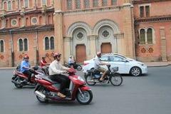 Vietnam Ho Chi Minh City street view Stock Photos