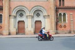 Vietnam Ho Chi Minh City street view Stock Photography