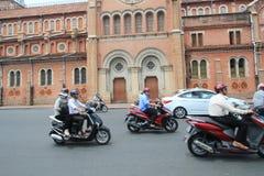 Vietnam Ho Chi Minh City street view Royalty Free Stock Photography