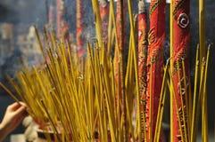 Vietnam-- Ho- Chi Minh StadtSaigon Tempel Stockfoto