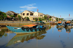 Vietnam - Hoi An. Hoi An city - highlight of any trip to Vietnam. Hio An old town is a UNESCO site.  Vietnam Stock Image