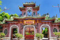 Vietnam - Hoi An. Hoi An city - highlight of any trip to Vietnam. Hio An old temple a UNESCO site.  Vietnam Stock Images