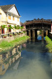 Vietnam - Hoi An. Hoi An city - highlight of any trip to Vietnam. Hio An old town is a UNESCO site.  Vietnam Stock Photo