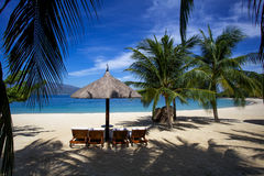 Vietnam Hon Tre Island beach Royalty Free Stock Photo