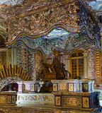 Vietnam, Hue, December 16, 2016: Tomb of Khai Dinh, It was built for the Nguyen Emperor Khai Dinh royalty free stock photography