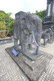 Vietnam Hue Lang khai dinh tomb Stock Photos