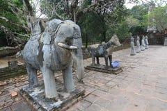Vietnam Hue Lang khai dinh tomb Stock Images