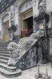 Vietnam Hue Lang khai dinh tomb Royalty Free Stock Photos