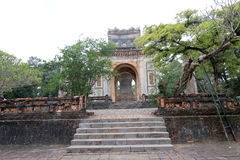 Vietnam Hue Lang khai dinh tomb Royalty Free Stock Images