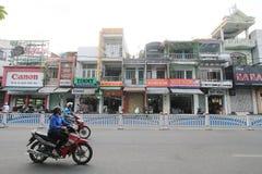 Vietnam Hue street view Stock Images
