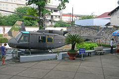 Vietnam Huey helicopter Royalty Free Stock Image