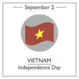 Vietnam Independence Day, September 2 Royalty Free Stock Image