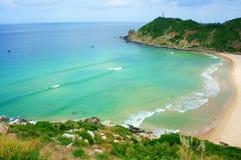 Vietnam landscape, beach, mountain, ecology, travel Stock Photography