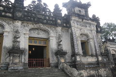Vietnam Lang khai dinh tomb in Hue Stock Images
