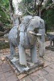 Vietnam Lang khai dinh tomb in Hue Royalty Free Stock Images