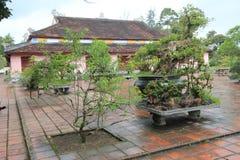 Vietnam Lang khai dinh tomb in Hue Royalty Free Stock Image