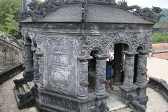 Vietnam Lang khai dinh tomb in Hue Stock Photo