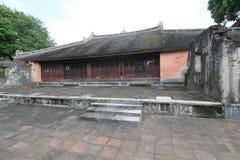 Vietnam Lang khai dinh tomb in Hue Stock Photography