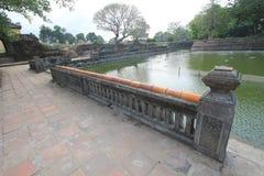 Vietnam Lang khai dinh tomb in Hue Stock Image
