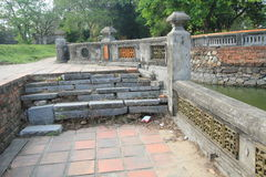 Vietnam Lang khai dinh tomb in Hue Stock Images