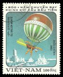 Vietnam, Luchtvaart, Luchtballon royalty-vrije stock fotografie