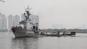 Vietnam-Marine stock footage
