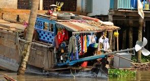 Vietnam Mekong delta Royaltyfria Foton