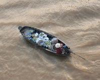 Vietnam, Mekong Delta floating market Stock Image