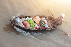 Vietnam, Mekong river delta Royalty Free Stock Photo