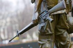 Vietnam Memorial. The Vietnam Memorial in Washington, D.C Stock Photo