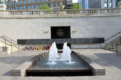 Vietnam Memorial in Chicago Stock Photos