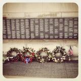 Vietnam Memorial in Chicago Stock Image