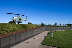 Vietnam Memorial Wall South Stock Images