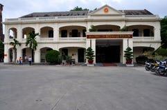 Vietnam militärt historiemuseum, Hanoi, Vietnam arkivbild
