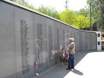 Vietnam minnesmärke i Kansas City Royaltyfri Fotografi