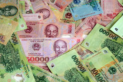 Vietnam Money Royalty Free Stock Photo