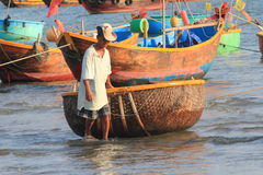 Vietnam Mui ne fishing village Stock Photo