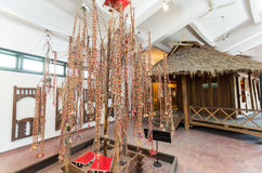 Vietnam Museum of Ethnology in Hanoi. Hanoi, Vietnam - August 16, 2015: the Vietnam Museum of Ethnology showcases the 54 ethnic groups of Vietnam Royalty Free Stock Images