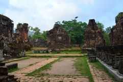 Vietnam - My Son - Temple Complex Royalty Free Stock Image