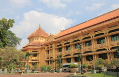 Vietnam nationellt museum av historia royaltyfri foto