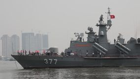 Vietnam Navy stock video