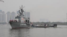Vietnam Navy stock video footage