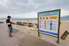 Vietnam Nha Trang beach Royalty Free Stock Image