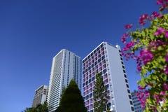 Vietnam Nha Trang grid Hotel royalty free stock image