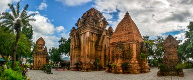 Vietnam Cham Towers stock photos