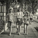Vietnam och vietnameser Fotografering för Bildbyråer
